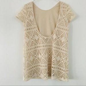 Show me your Mumu open back off white dress size S